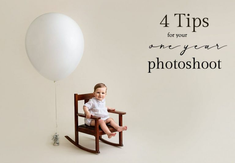 4 Tips for your one year photoshoot by Ellen Adams Photography