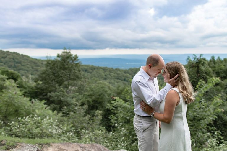 Monte Sano anniversary photo shoot image of a couple celebrating 15 years of marriage together