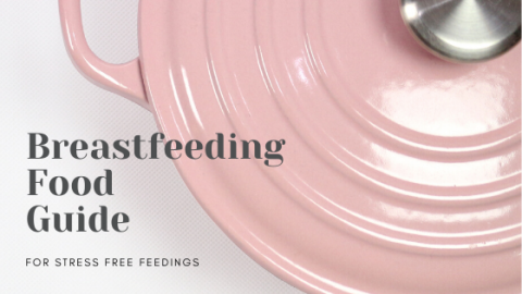 Breastfeeding food guide to help new moms prevent colic in their newborn babies.